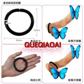 QH191-27  adjustable size, single ring, Cock ring, Penis Ring for men, adult products, sex toy