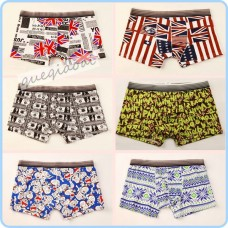 YW009 High quality 2014 swimwear men underwear summer must-series pull in chinese style pattern penis pouch boxers