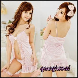 Z105-25 Fashion summer dress 2014 off the shoulder erotic underwear ruffles babydoll backless sexy lingerie